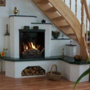 eckkamin 02 aus marmor verde guatemala baade kamine holzback fen. Black Bedroom Furniture Sets. Home Design Ideas